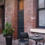 brick entrance