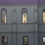 Chapel windows.